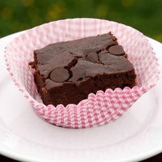 10 Healthy Brownie Recipes That Make a Diet Seem Decadent. I usually eat 90 calorie Fiber 1 brownies, but it might be nice to make my own healthy brownie.
