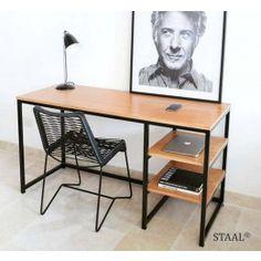 Iron Furniture, Simple Furniture, Steel Furniture, Office Furniture, Home Furniture, Furniture Design, Furniture Ideas, Home Office Setup, Home Office Design