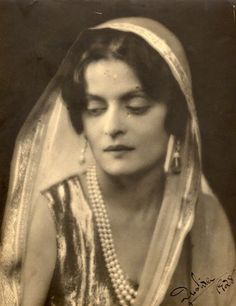 Rani Indira Devi mother of Maharani Gayatri Devi of Jaipur