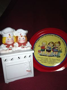 Campbell's Soup Kids cookie jar. $25.00, via Etsy.