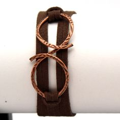 Copper Infinity Flourish Wrap Friendship Bracelet as seen at the 2012 CMA Talent Gift Lounge