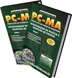 Concurso Polícia Civil do Maranhão 2012 - Apostilas para Investigador e Escrivao - 2 volumes  (R$63.90)
