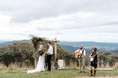 Alpine Valley VIC destination wedding elopement acoustic music with Melbourne band Fidel & Sarah