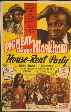Black Hollywood: House Rent Party by Black History Album, via Flickr