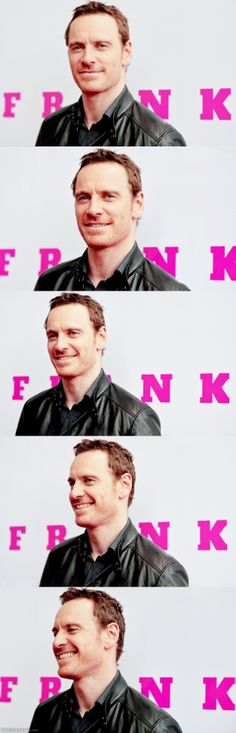 "I DON'T KNOW ABOUT YOU BUT WHEN I SEE A FILM THAT MICHAEL FASSBENDER IS IN, I WANT TO SEE THIS FACE.  (IN RE: TO  ""FRANK"")"