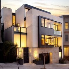 Contemporary Russian Hill House