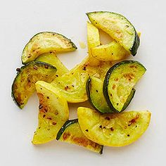 Slightly sweet from the caramelization that happens during roasting, this summer squash is an ideal side for fish or grilled chicken. Make a double batch and toss the leftovers into an omelet the nex...see more