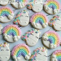 So cute!!! By @lovebugcookies #cookies #decoratedcookies #sugarcookies…
