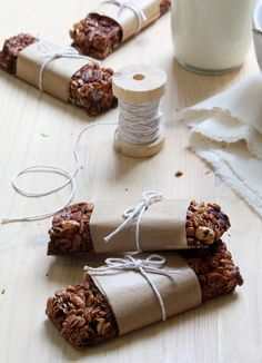 barres-de-cereales Food Preparation, Tea Time, Delish, Biscuits, Easy Meals, Yummy Food, Healthy Recipes, Homemade, Eat