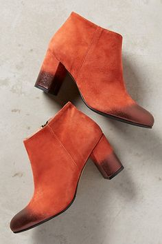 Lenora Mia Suede Booties #anthropologie