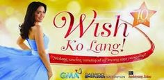 Wish Ko Lang January 16 2016   Wish Ko Lang January 16 2016 full episode replay Wish Ko Lang (English: Just My Wish) is the first wish-granting show broadcast by GMA Network. Its pilot episode was broadcast on June 28 2002 hosted by Bernadette Sembrano. She was later replaced by Vicky Morales after Sembrano transferred to rival network ABS-CBN. The show celebrated its 8th Anniversary in NovemberDecember 2010. Another Saturday another wish comes true courtesy of everyones favorite…