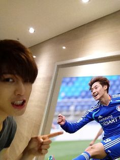 Jaejoong is showing off his BFF