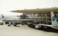 The distinctive Worldport terminal at New York's JFK Airport is earmarked for demolition. It was orignally known as the Pan Am terminal, and with its flying saucer shape, has appeared in a number of films, including Live and Let Die. Its impending demise has upset many, who see it as an important relic of the air travel's glamorous heydey, and a campaign group is fighting to have it saved.  Here we present some more of the world's most eye-catching airport terminals.