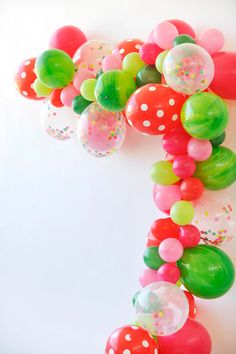 Watermelon Balloon Arch