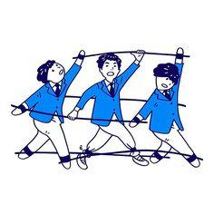 Let's enjoy. Fruit Illustration, Japanese Illustration, Simple Illustration, Character Illustration, Graphic Illustration, Sketchbook Tumblr, Character Drawing, Character Design, Book Design