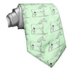 Tennessee Walking Horse -- Men's neck ties