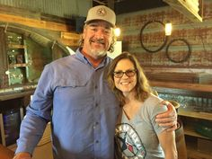 Brian and Moira McCue - Spirit of Texas Winery