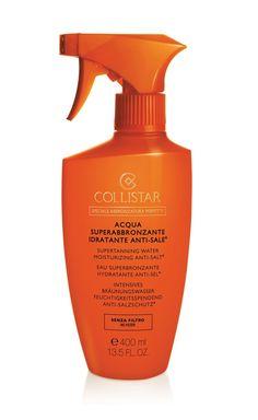 Acqua Superabbronzante Idratante Anti-Sale® #Collistar #sun #sole #solare #abbronzatura #protezione #summer #estate #acqua #water