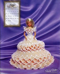 <3 Bridal Dreams Collection 1999 Master Crochet Series Miss November Crochet Pattern Book Annie Potter