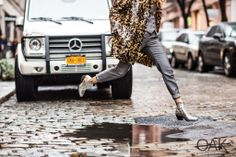 Fashion blogger Shea Marie sporting Barbara Bui Pre Fall 2014 collection in New York Streets