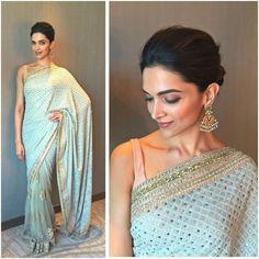 Deepika & her sense of style never fail to amaze me. Stunning saree