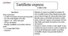 TARTIFLETTE EXPRESS | COOKEO-02100