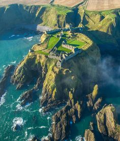FUCKITANDMOVETOBRITAIN — opticxllyaroused: Dunottar Castle, Scotland by...