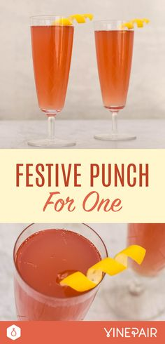 Festive Punch For One Recipe