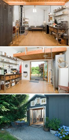 Seattle, WA, USA. Beautiful, private, peaceful Mini House getaway, custom designed by an artist and designer. Featured in design books, magazines and the NY Times.