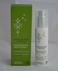 Madara Regenerating Night Cream review