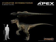 Utahraptor Ostrommaysorum by Herschel-Hoffmeyer on deviantART Jurassic World, Amphibians, Mammals, Dinosaur Pictures, Spinosaurus, Extinct Animals, Dinosaur Art, Prehistoric Creatures, Animal Species