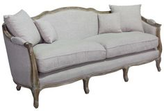 The Bergere love seat. A Block and Chisel product.