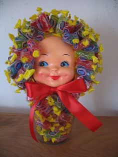 Ugly beyond all reason.  This is the sort of gift that gives little children nightmares.