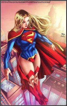 Supergirl by diabolumberto on DeviantArt Dc Comics Girls, Dc Comics Art, Marvel Girls, Marvel Dc Comics, Marvel Heroes, Anime Comics, Superheroes Girl, Supergirl Pictures, Melissa Supergirl