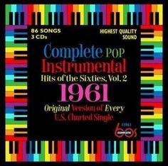 Various - Complete Pop Instrumental Hits Of The Sixties, Volume 2: 1961