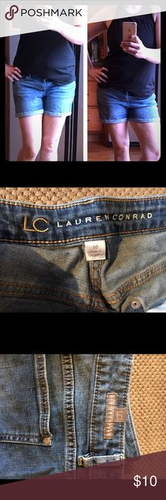 ❤️VDAY SALE ❤️ Lauren Conrad Jean shorts Cute Lauren Conrad Jean shorts size 10. Normal wear they are in good condition. LC Lauren Conrad Shorts Jean Shorts