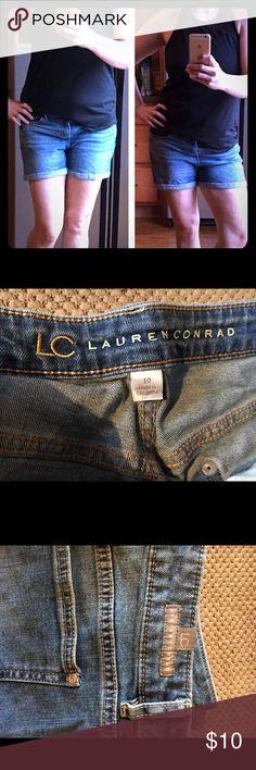 ❤️VDAY SALE ❤️ Lauren Conrad Jean shorts Cute Lauren Conrad Jean shorts size 10. Normal wear they are in good condition. LC Lauren Conrad Shorts Jean Shorts