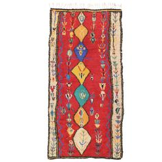 Vintage Moroccan Berber Tree of Life Rug | From a unique collection of antique and modern moroccan and north african rugs at https://www.1stdibs.com/furniture/rugs-carpets/moroccan-rugs/