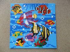 Aquarium hama beads by creation-nath