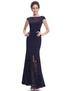 With Spliced Maxi Dress