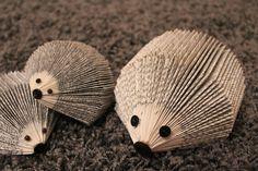 Min Naturliga Sida: Familjen Hedgehog flyttar in - att vika en igelkott av en bok !