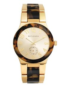 Timeless Tortoise Watch | Jewelry by Silpada Designs