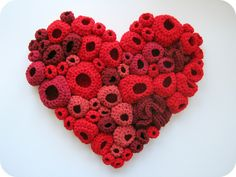 Crochet Freeform Heart