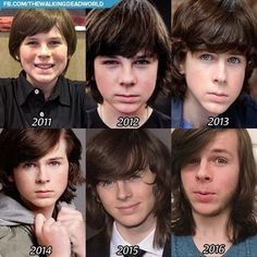 the walking dead, twd, and chandler riggs image Memes The Walking Dead, Carl The Walking Dead, Walking Dead Show, Carl Grimes, Judith Grimes, Chandler Riggs, Dead Pictures, Funny Pictures, Stuff And Thangs