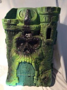 He Man Masters Of The Universe Castle Grayskull Skellator 1980s Toys Vintage