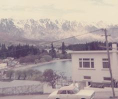 The Remarkables from Queenstown.