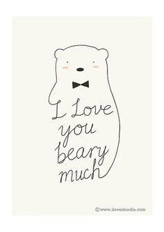 I Love You Beary Much | Flickr: Intercambio de fotos