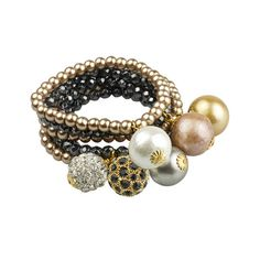 Stretchy Bauble Bracelets   John Wind Maximal Art
