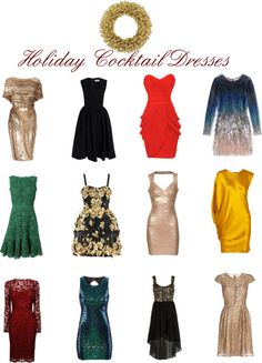I need a new holiday party dress...!