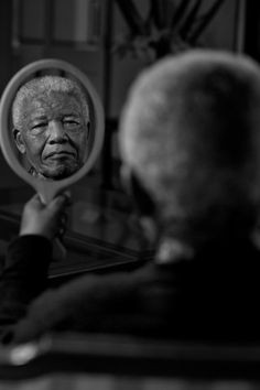 Nelson Mandela by Adrian Steirn